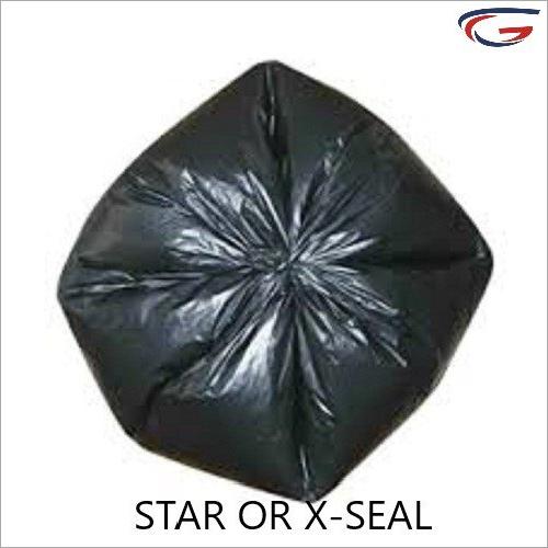 Black Plastic Garbage Bag