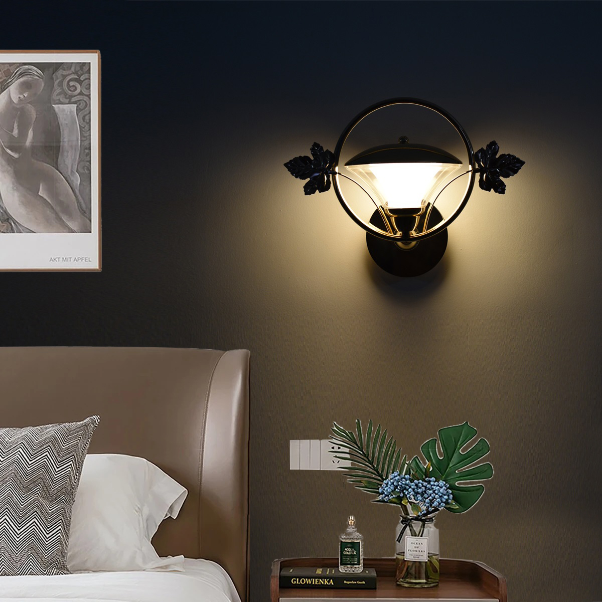 12w Petal Wall Lamp Led Indoor (Warm White)