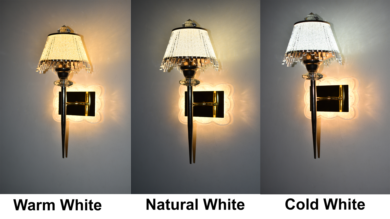 21w Umbrella Style Wall Lamp Led (Warm White+ Natural White+ Cool White)