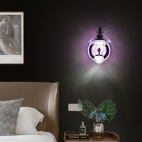 16w Crystal Wall Led 3 Colours (Warm White+ Natural White+ Cool White)
