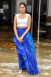 Shraddha Blue Crop Top