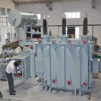 Powder Coated Oil Cooled Power Transformer