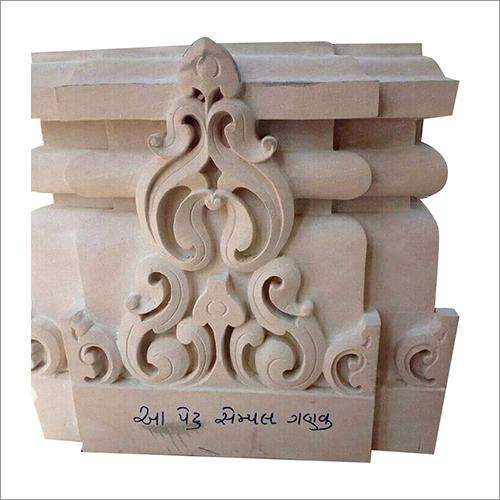 Sandstone Designer Engraved Pillar
