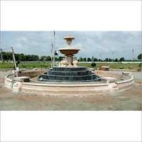 Sandstone Architecture Fountain Structure