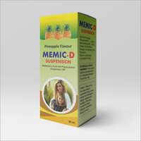 Mefenamic Acid And paracetamol Suspension BP