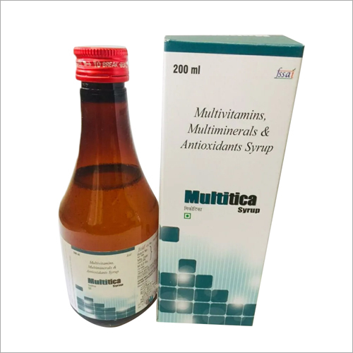 Multivitamins Multiminerals And Antioxidants Syrup