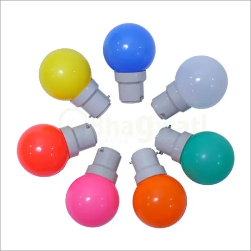 5 Watt Colourful LED Bulb