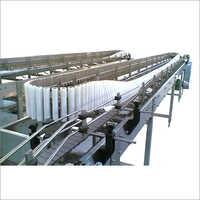 DP Series Bottle Tilting Sterilizing Conveyor