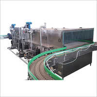 Showering And Cooling Tunnel Machine