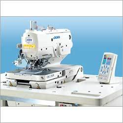 Computer-Controlled, Eyelet Buttonholing Machine