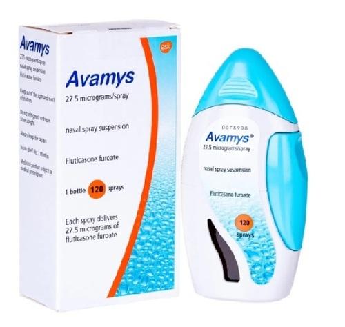 Brand Avamys Fluticasone Furoate Nasal Spray