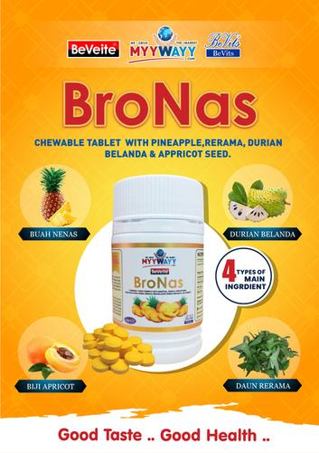 BroNas Chewable Tablet