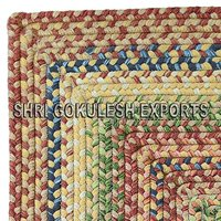 Exclusive Design Indian Handmade Cotton Braided Carpets