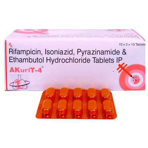 Rifampicin Isoniazid Pyrazinamide Ethambutol Tablets