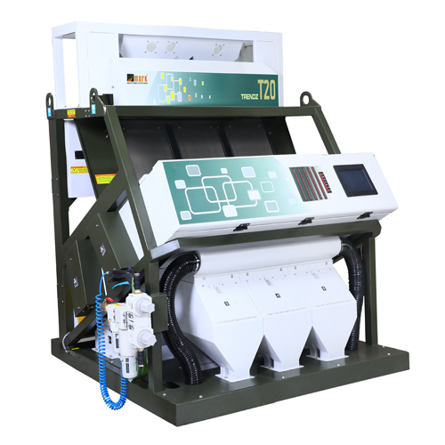 3 Chute T20 Rice Color Sorting Machine