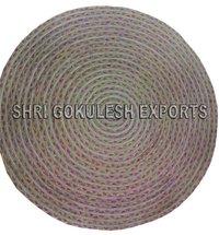 100% Indian Handmade Cotton Braided Floor Carpets
