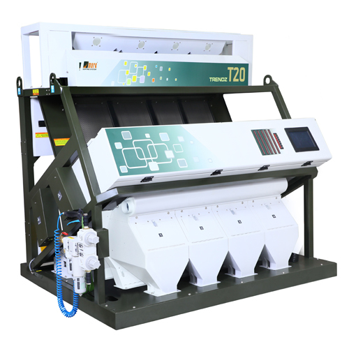 4 Chute T20 Rice Color Sorting Machine
