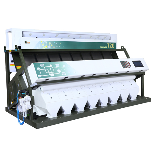 8 Chute T20 Rice Color Sorting Machine