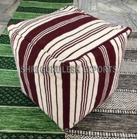 Best Quality Designer Cotton Poufs And Stools Ottomans