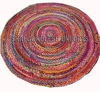 Wholesale Indian Handmade Cotton Braided Rugs