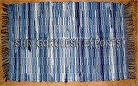 Wholesale Cotton Denim Carpets For Home Decoration