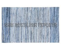 Handmade Natural Indian Cotton Denim Carpets