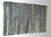 Wholesale Indian Handmade 100% Cotton Denim Carpets