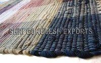Hot Selling Wholesale Indian Handmade 100% Cotton Chindi Carpets