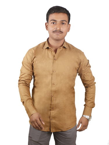 Plain Giza Cotton Shirt