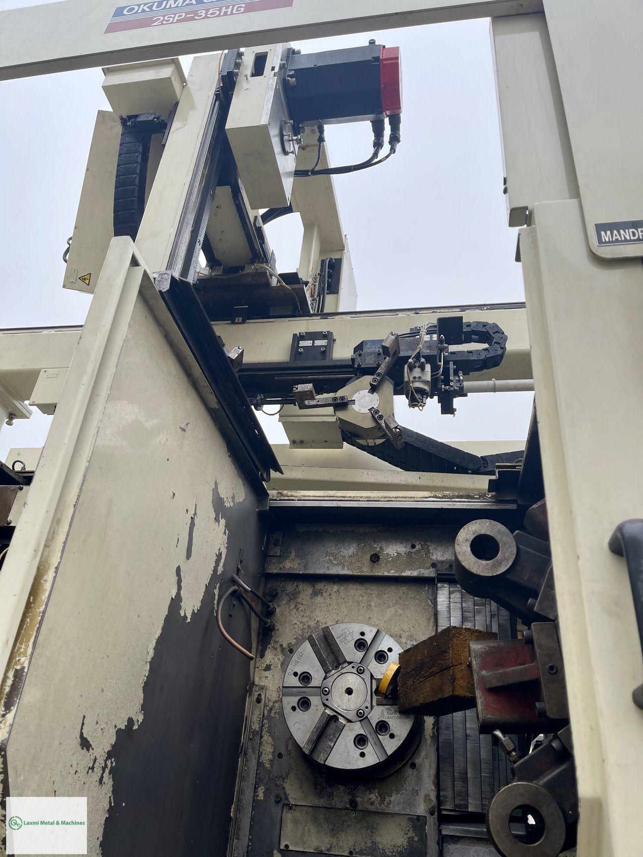 TWIN SPINDLE CNC LATHE, OKUMA & HOWA - 2SP 35HG
