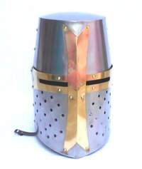 Medieval Knight Templar Helmet ~ Collectible Medieval Armour Helmet