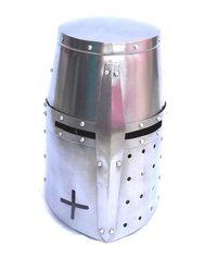Medieval Knight Crusader Helmet ~ Collectible Knight Armor Helmet
