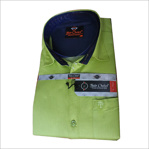 Pale Green Formal Shirt