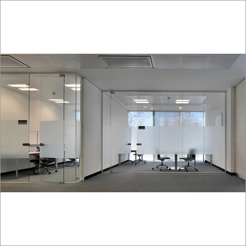 Fixed Glass Partition System