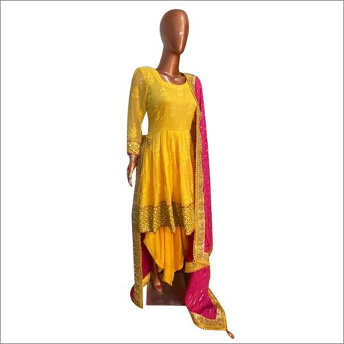 Ladies Punjabi Dhoti Suit