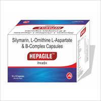 Silymarin, L-Ornithine L-Aspartate And B-Complex Capsules