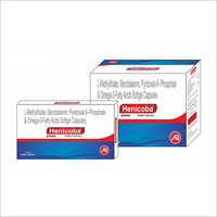 L-Methylfolat Mecobalamin Pyridoxial 5 Phosphate And Omega-3 Fatty Acids Softgel Capsules