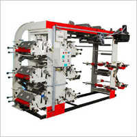 6 Colour Eco Flexographic Printing Machine