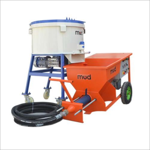 Industrial Cement Plaster Machine