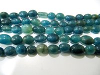 Dyed Blue Sapphire Quartz Oval Smooth Plain Size 7x9mm to 8x10mm Strand 13 Inches Long