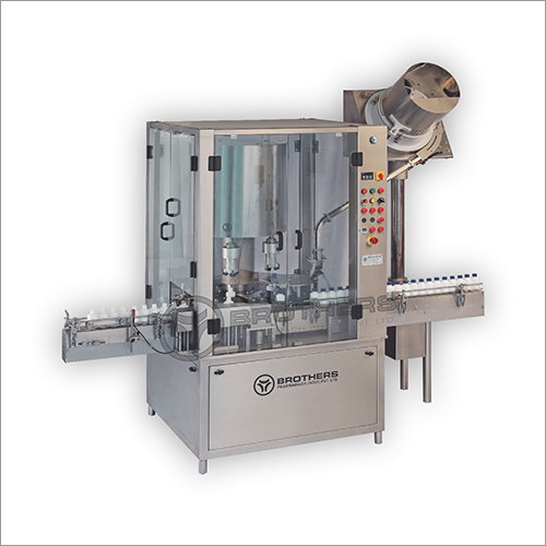 Automatic Four Head PNP Bottle Screw Capping Machine