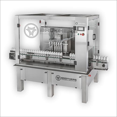 Automatic Linear Volumetric Liquid Filling Machine