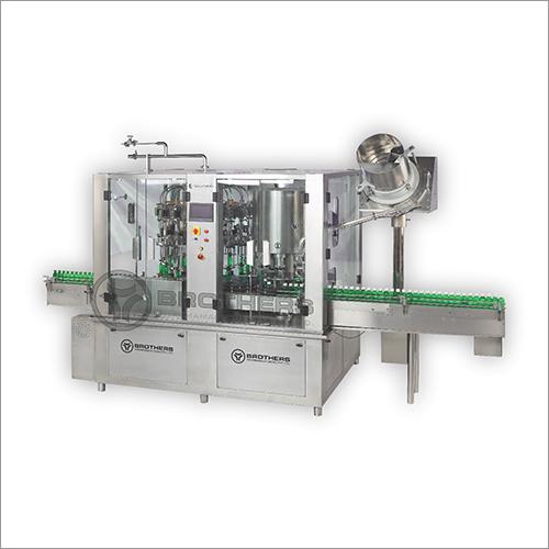 Rotary Monoblock 16x8 Head Flow Meter Filling Machine