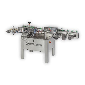 Automatic Round Product Labelling Machine
