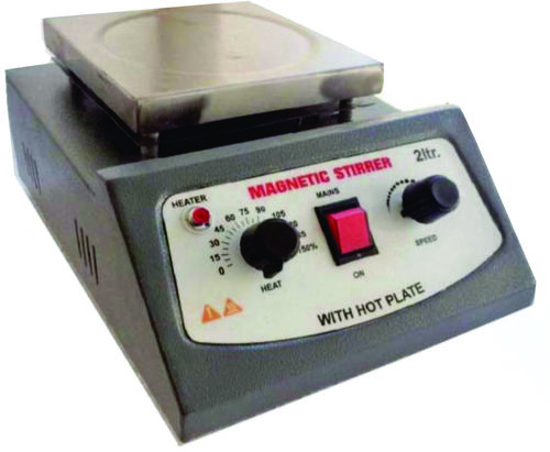 Hot Plate With Magnetic Stirrer