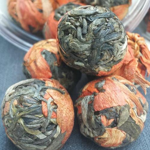 Skin Beauty Herbal Detox Private Label Flavored Flower Lily Pure Tea Ball