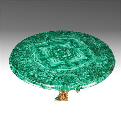 Gems Stone Table Top (Malachite Table)