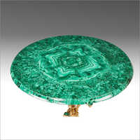 Gems Stone Table Top (Malachite Table)