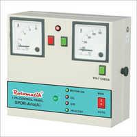 Auto Submersible Dry Run Control Panel