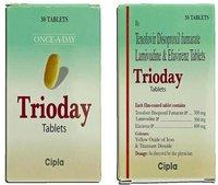 Tenofovir, Lamivudine & Efavirenz Tablets